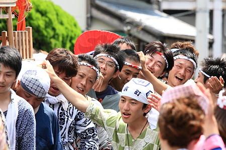 2011.08.07 富士 甲子祭 神輿