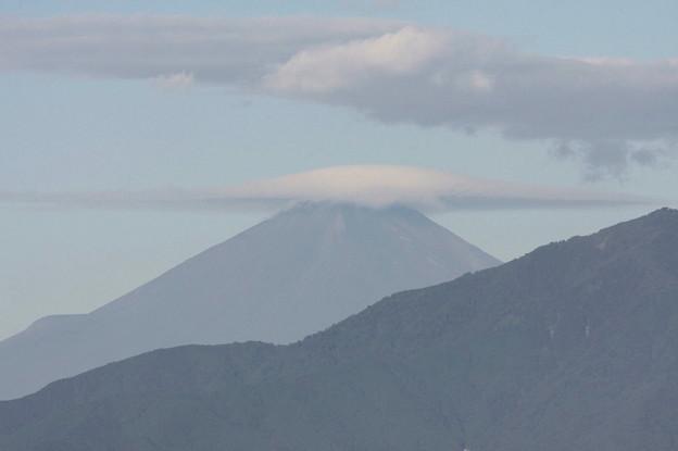 2011.09.22 三ツ境駅 富士山 台風一過