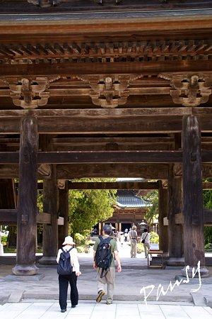 三門・・鎌倉建長寺にて・・1