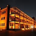 32夜の赤レンガ倉庫
