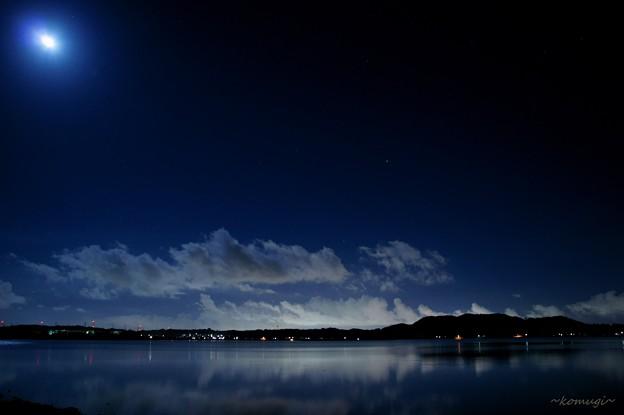 Photos: 月下蒼天