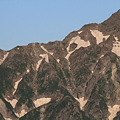 Photos: 100722-21穂高連峰と槍ヶ岳(9/30)