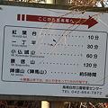 Photos: 101215-62ここから裏高尾