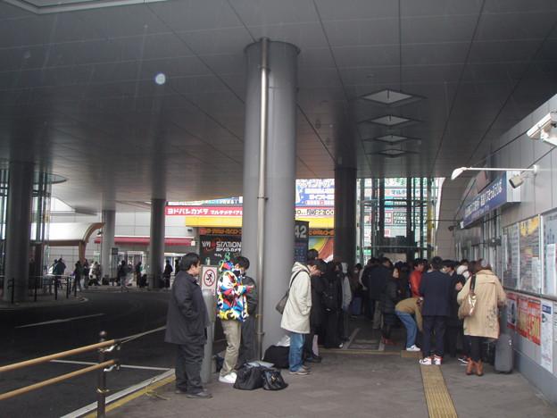 110315 仙台駅東口バス案内所_P3150249