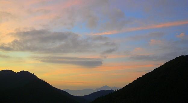 武甲山の朝焼け DSCN1636s