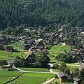 写真: 夏の白川郷