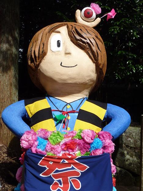 Photos: お祭りの花形はオバケ