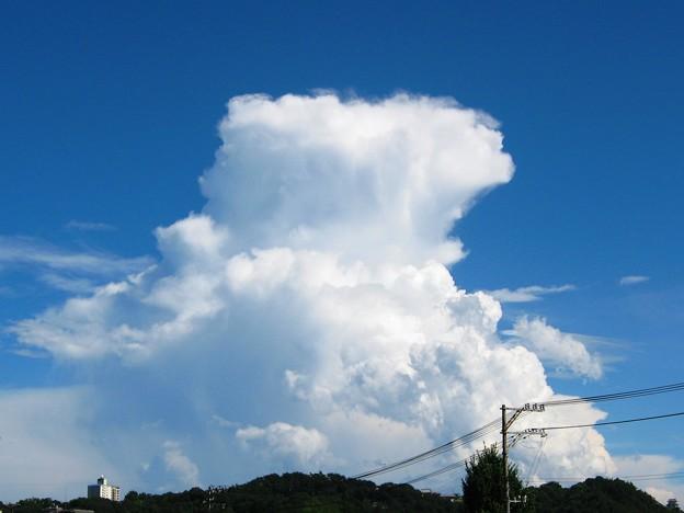 積乱雲発達中