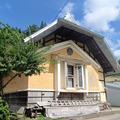 Photos: 杉山の兜屋根の蔵
