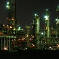 写真: 四日市の工場