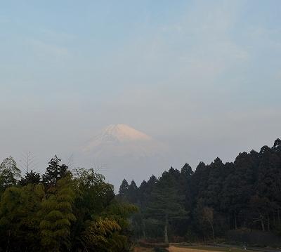 御殿場カントリークラブからの富士山1
