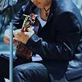 Photos: 海辺のギター♪