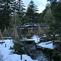 Photos: 兼六園 時雨亭 雪つり1