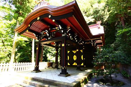 鶴岡八幡宮白旗神社