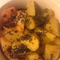 写真: 揚げない大学芋作りました。...