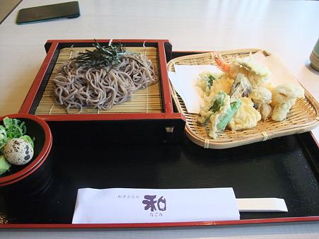 天ざるそば(道の駅・和【京都】)