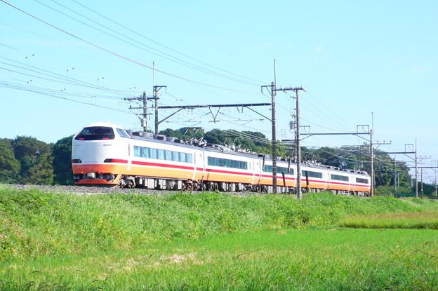 485系 特急日光(東北本線・宇都宮線)(2010年9月撮影)