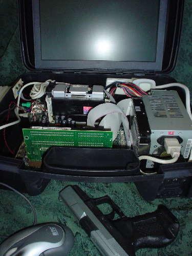 Portable PC case open 1