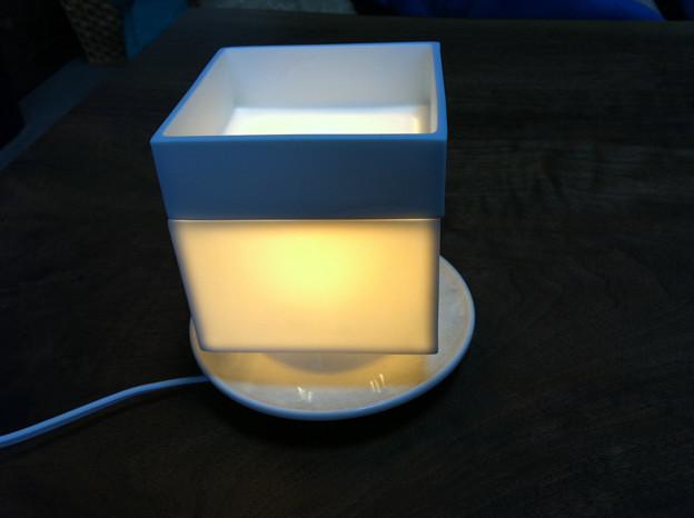 小皿ランプシェード