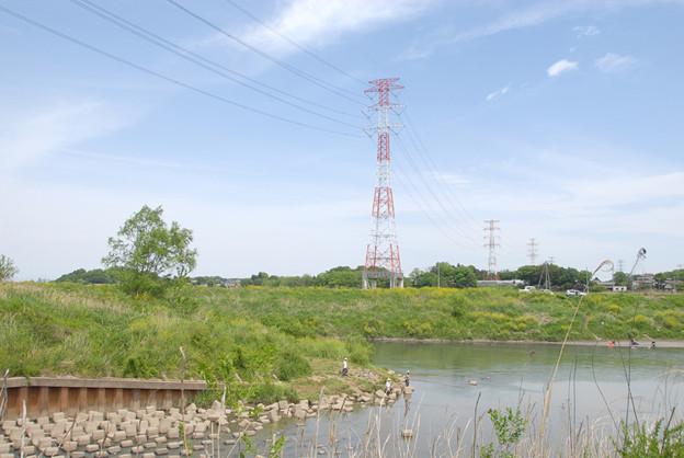 D200.10.5.9 11111 <市野川と荒川の合流点>