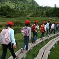 林間学校の生徒