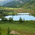 写真: 逢ノ峰中腹より弓池をみる1