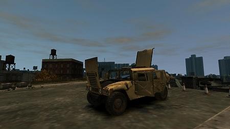 GTAIV Hummer H1 3